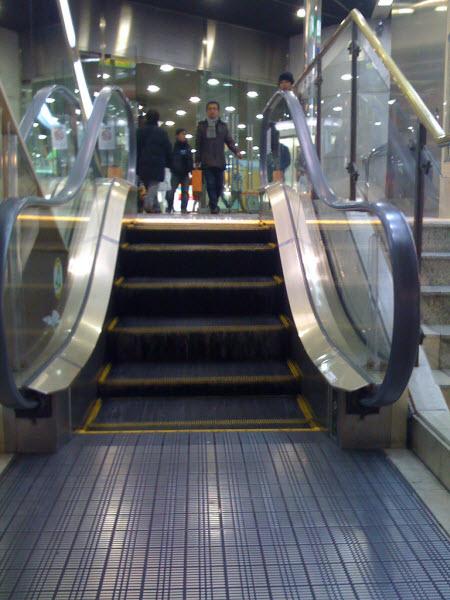 escaleras mecanicas mas pequeñas