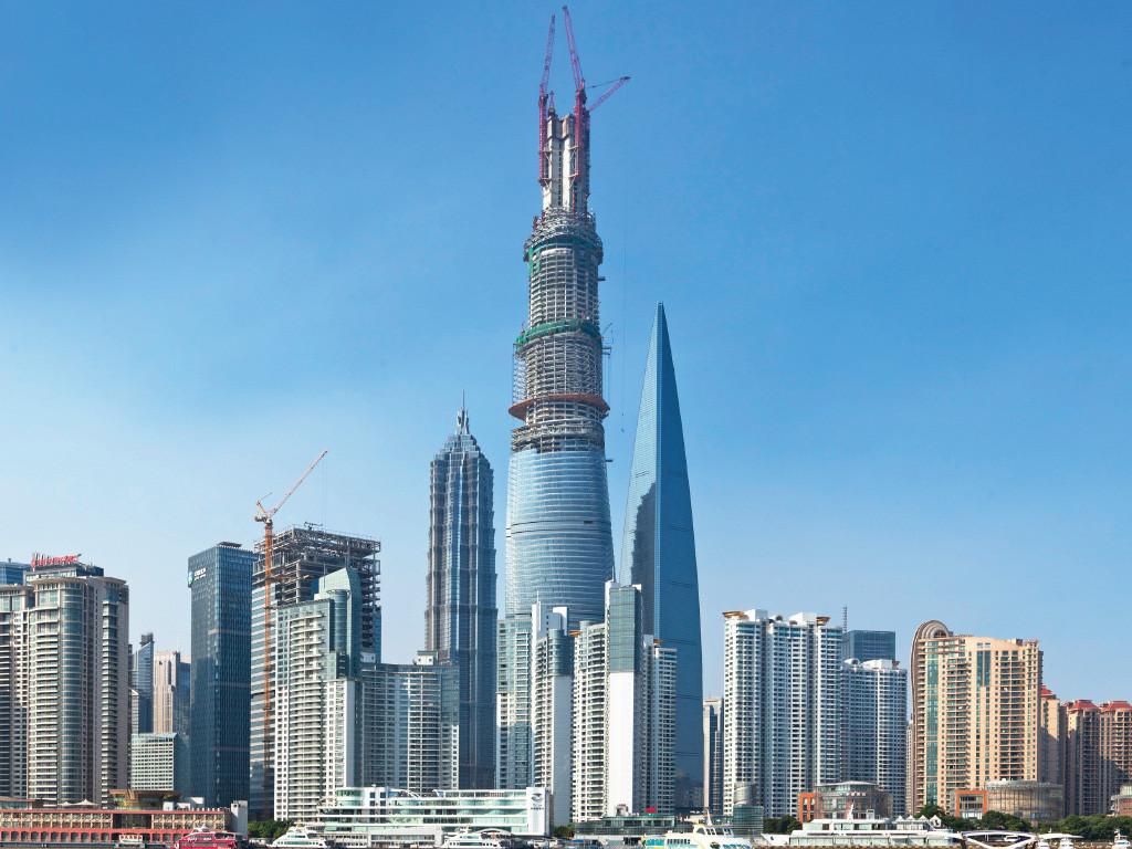 El nuevo ascensor más rápido del mundo en la Torre Shanghai