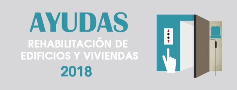 Ayudas y Subvenciones para instalación de ascensores (2018)