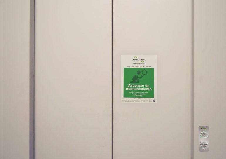 Normas de la empresa conservadora de ascensores