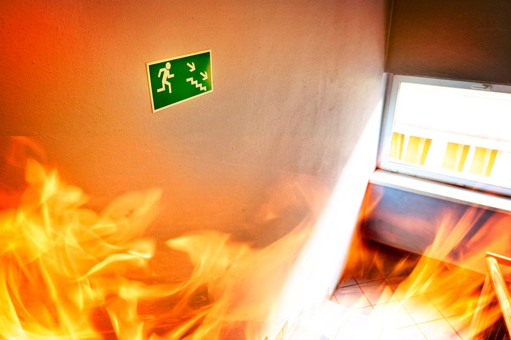 ascensor en caso de incendio