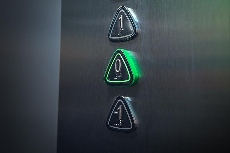 ¿Por qué los pulsadores de Eninter Ascensores son triangulares?